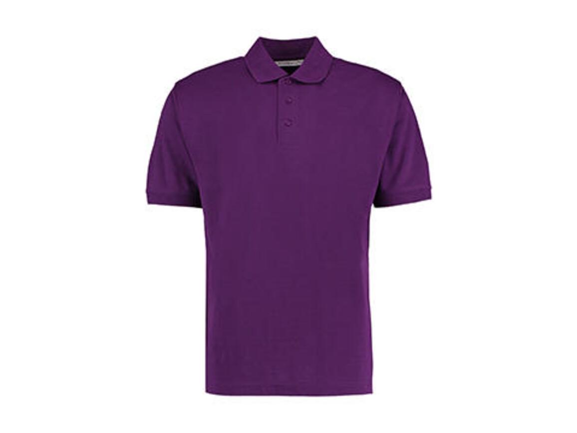 Kustom Kit Men`s Classic Fit Polo Superwash® 60º, Dark Purple, XL bedrucken, Art.-Nr. 043113486