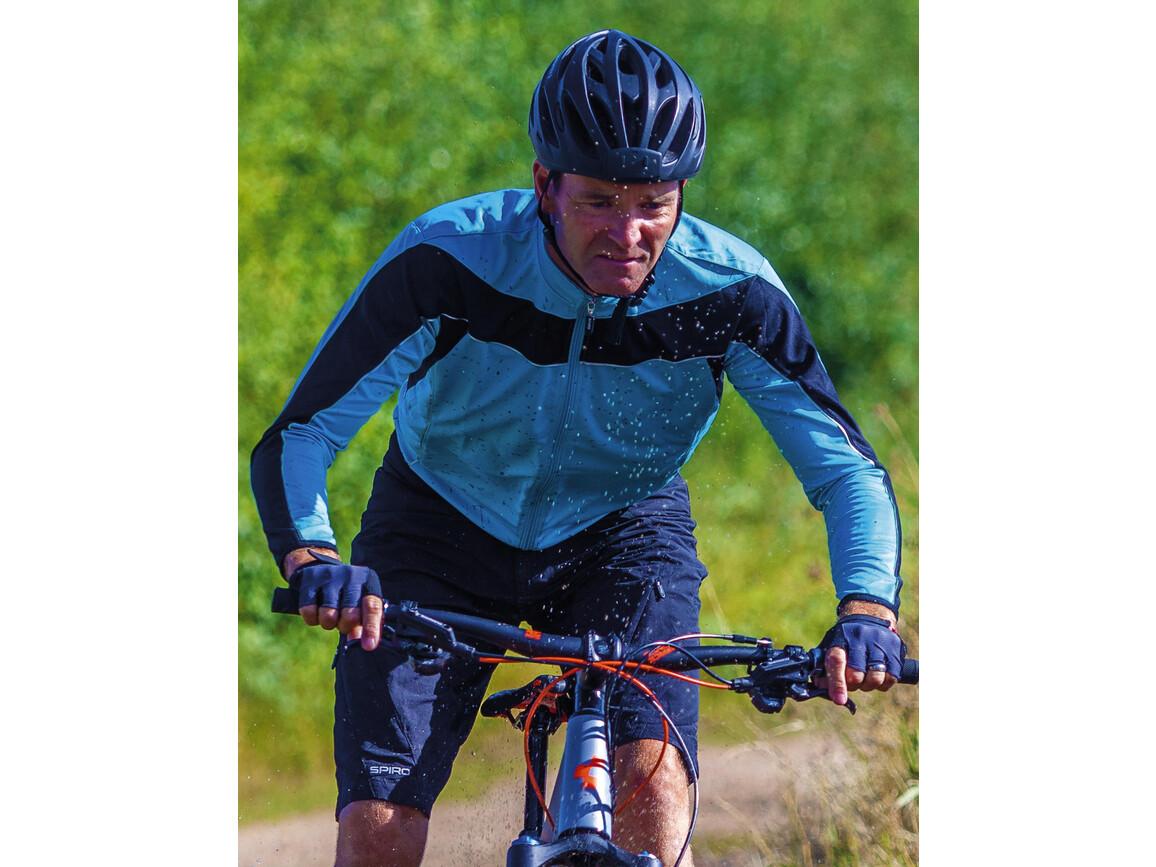 Result Bikewear Performance Top LS, White/Black, M bedrucken, Art.-Nr. 044330564
