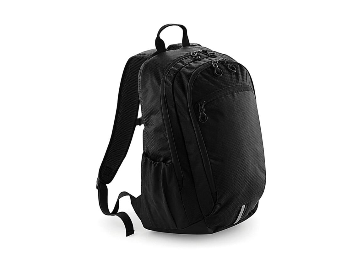 Quadra Quadra Endeavour Backpack, Jet Black, One Size bedrucken, Art.-Nr. 052301050