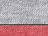 Bella Toddler 3/4 Sleeve Baseball Tee, Grey/Red Triblend, 4T bedrucken, Art.-Nr. 055061723