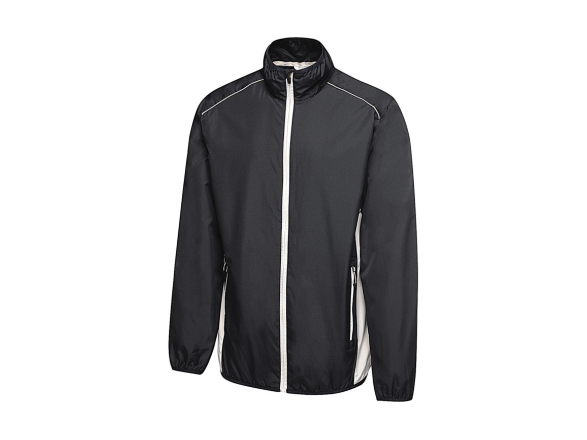Regatta Athens Tracksuit Jacket, Navy/White, 2XL bedrucken, Art.-Nr. 055172537