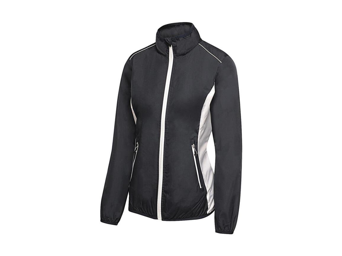Regatta Women`s Athens Tracksuit Jacket, Navy/White, 16 (42) bedrucken, Art.-Nr. 057172536