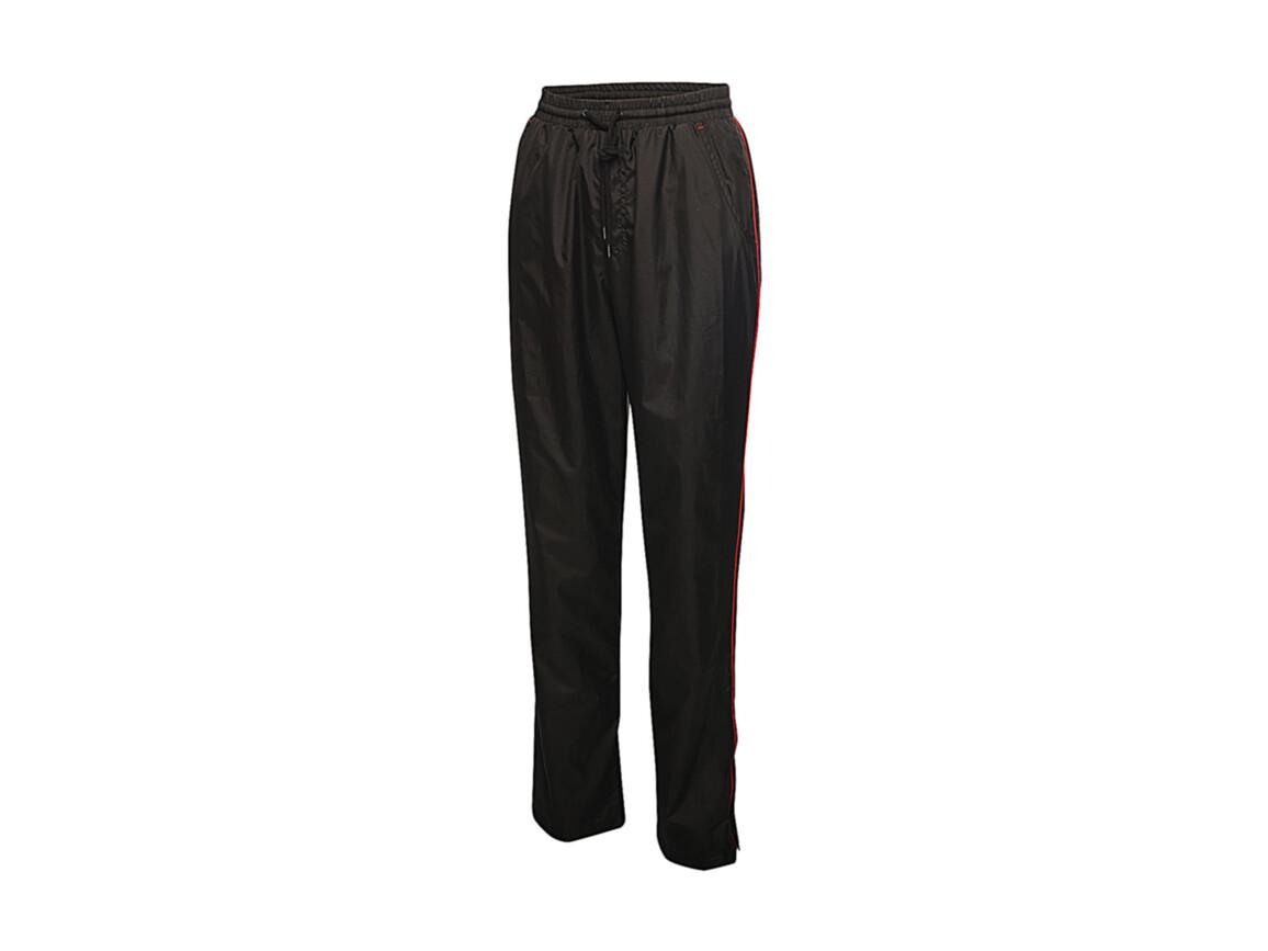 Regatta Women`s Athens Tracksuit Trousers, Black/Classic Red, 16 (42) bedrucken, Art.-Nr. 058171576