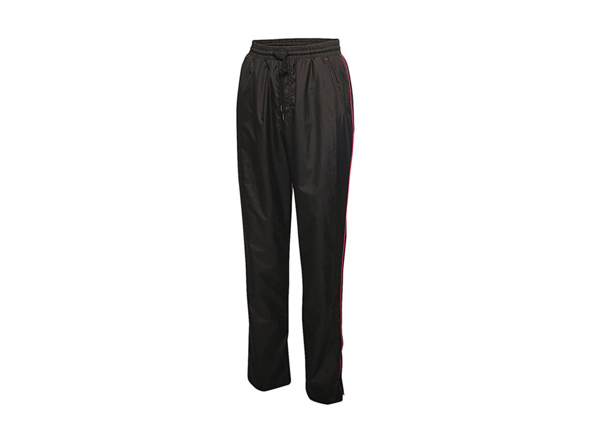 Regatta Women`s Athens Tracksuit Trousers, Black/Hot Pink, 8 (34) bedrucken, Art.-Nr. 058171692