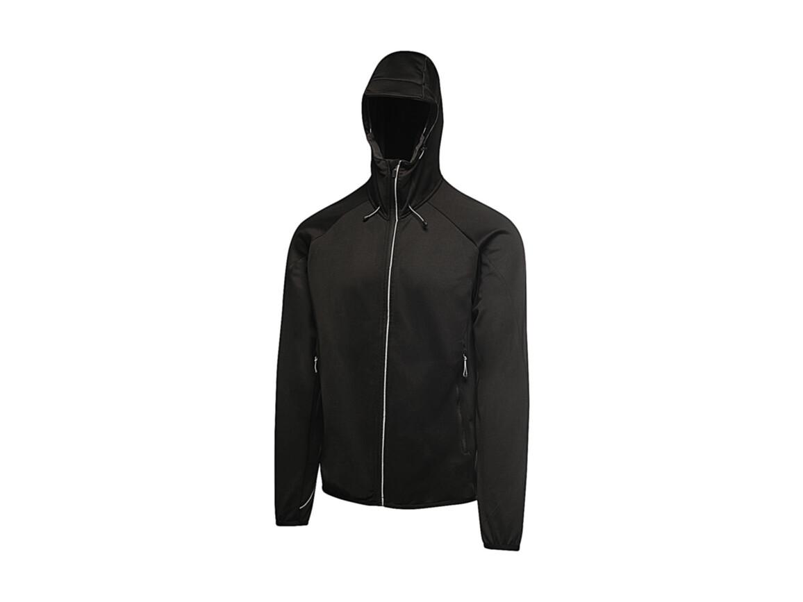 Regatta Helsinki Powerstretch Jacket, Black, XL bedrucken, Art.-Nr. 059171016