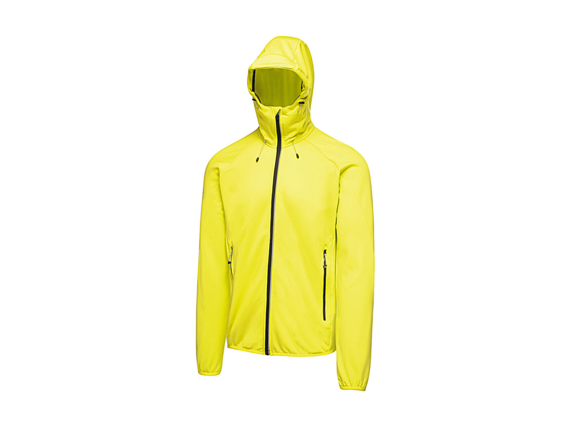Regatta Helsinki Powerstretch Jacket, Neon Spring, S bedrucken, Art.-Nr. 059175053