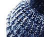 Beechfield Twist-Knit Pom Pom Beanie, Fuchsia Twist, One Size bedrucken, Art.-Nr. 059694400