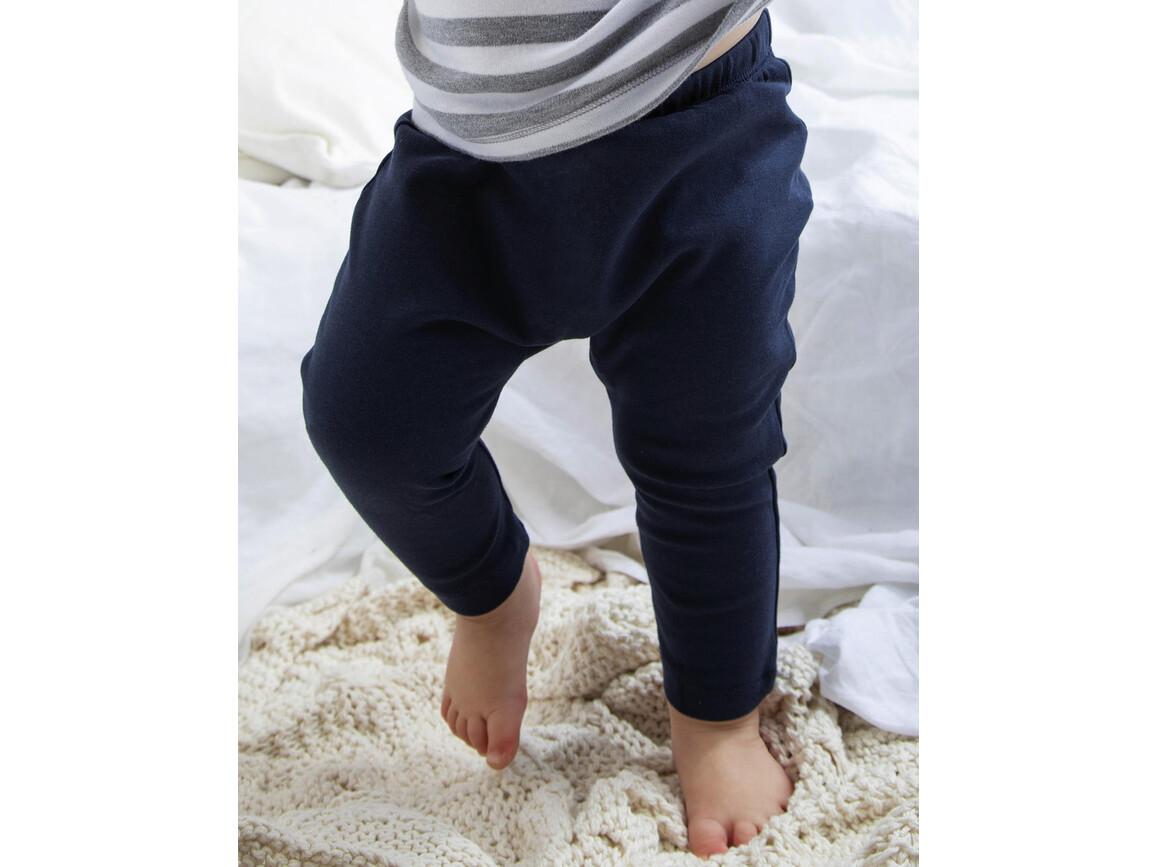BabyBugz Baby Plain Leggings, Black, 6-12 bedrucken, Art.-Nr. 064471013