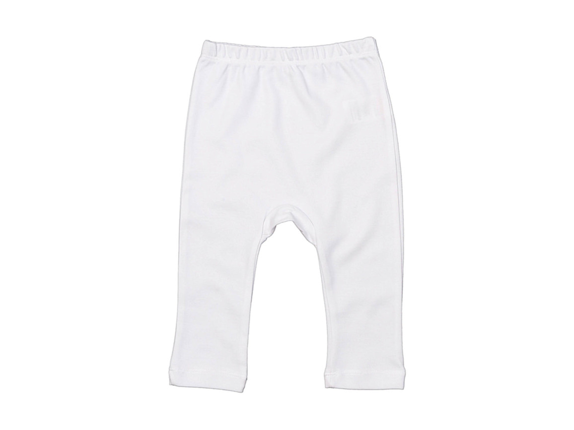 BabyBugz Baby Plain Leggings, White, 12-18 bedrucken, Art.-Nr. 064470004