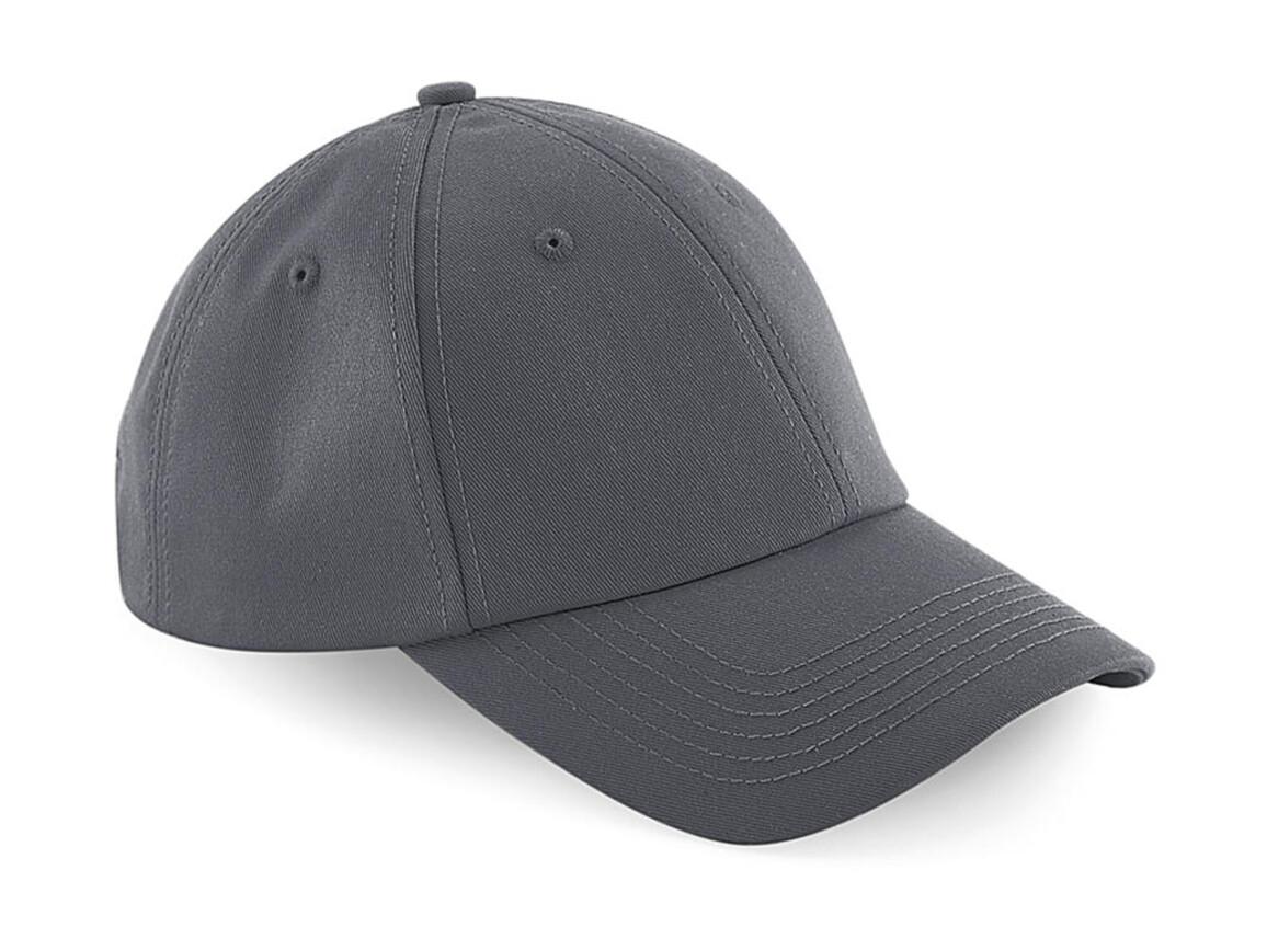 Beechfield Authentic Baseball Cap, Graphite Grey, One Size bedrucken, Art.-Nr. 064691310