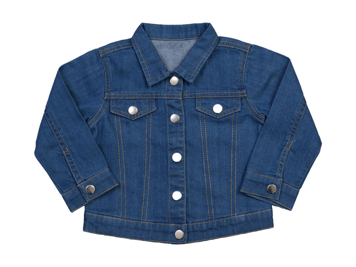 BabyBugz Baby Rocks Denim Jacket, Denim Blue, 12-18 bedrucken, Art.-Nr. 065473084