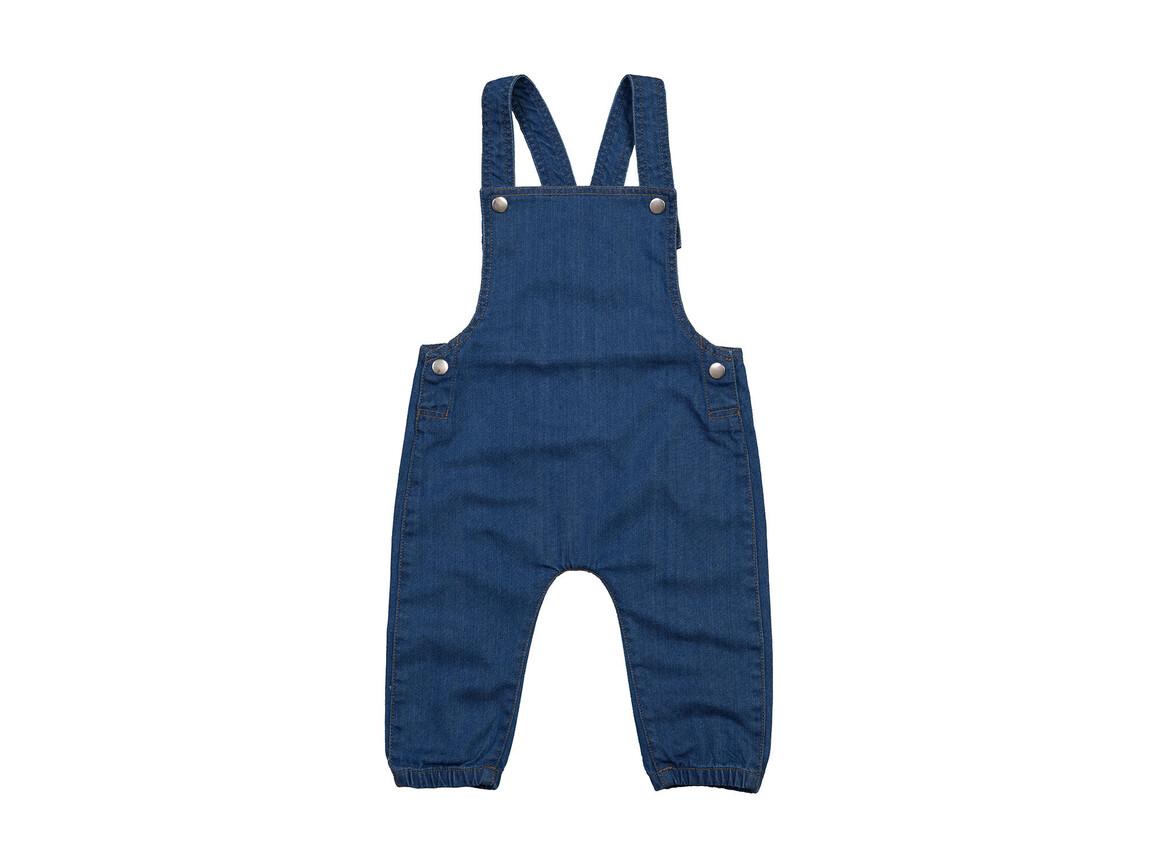 BabyBugz Baby Rocks Denim Dungarees, Denim Blue, 3-6 bedrucken, Art.-Nr. 068473082
