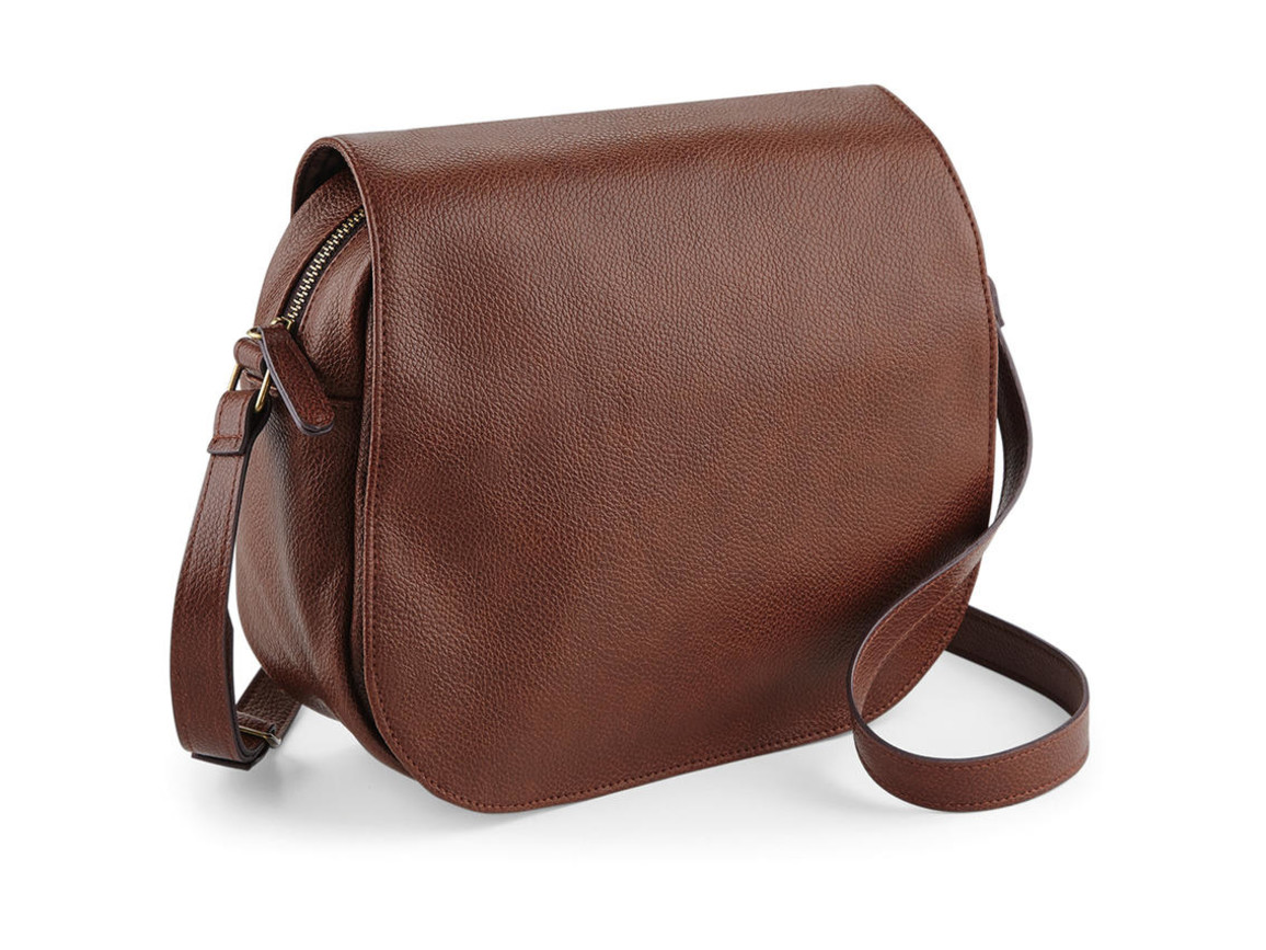 Quadra NuHide™ Saddle Bag, Tan, One Size bedrucken, Art.-Nr. 069307170