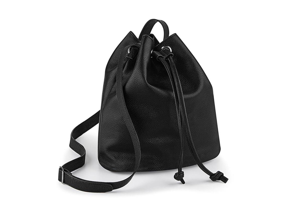 Quadra NuHide™ Bucket Bag, Black, One Size bedrucken, Art.-Nr. 070301010