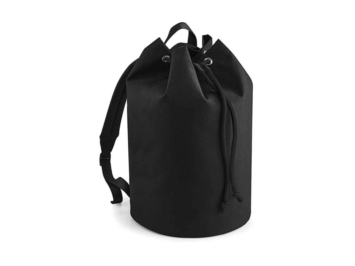 Bag Base Original Drawstring Backpack, Black, One Size bedrucken, Art.-Nr. 073291010