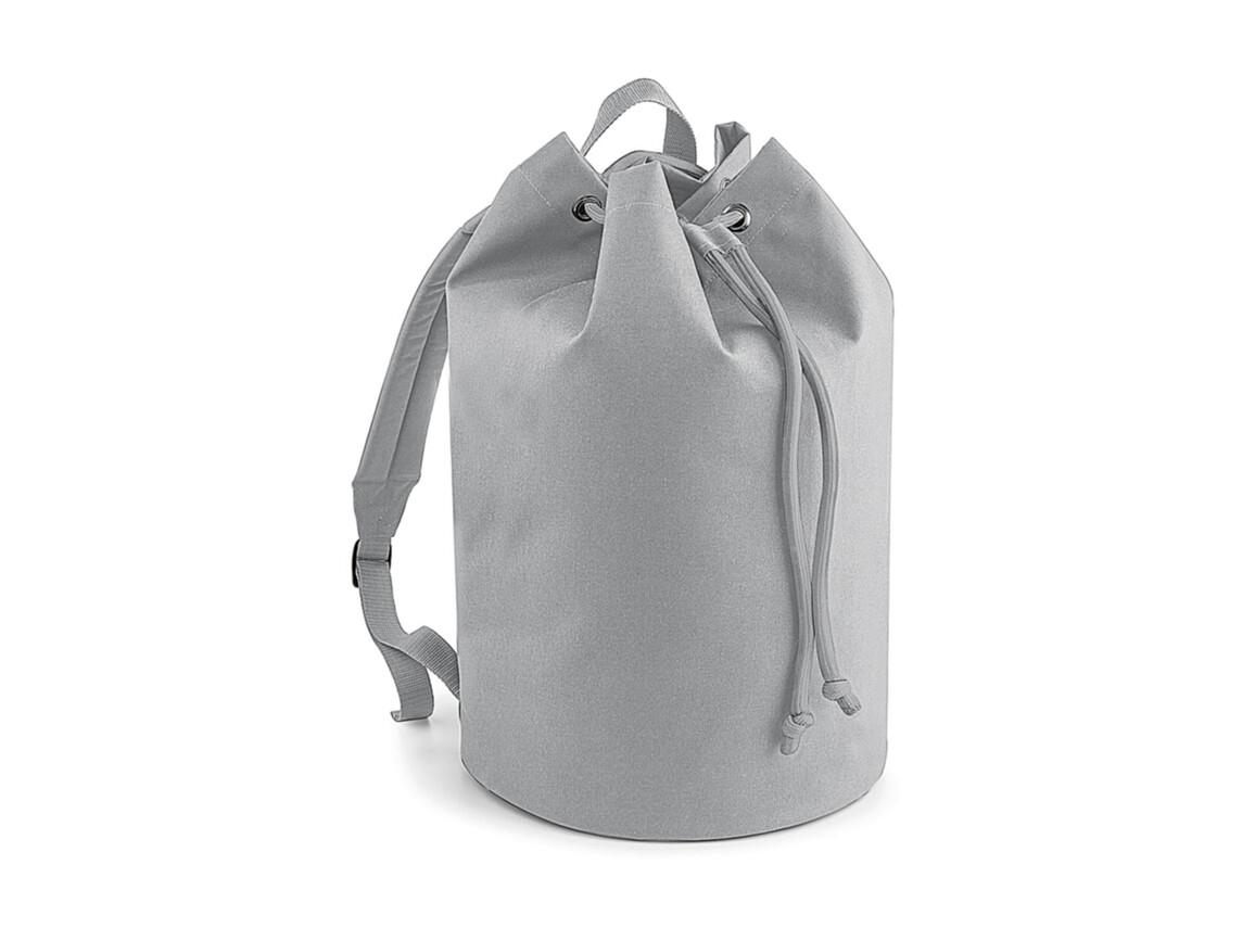 Bag Base Original Drawstring Backpack, Light Grey, One Size bedrucken, Art.-Nr. 073291380