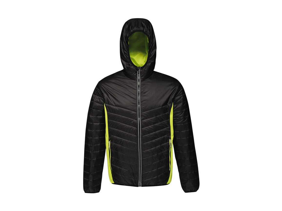 Regatta Lake Placid Jacket, Black/Lime Zest, L bedrucken, Art.-Nr. 074171715