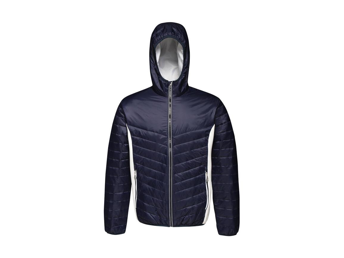 Regatta Lake Placid Jacket, Navy/White, L bedrucken, Art.-Nr. 074172535