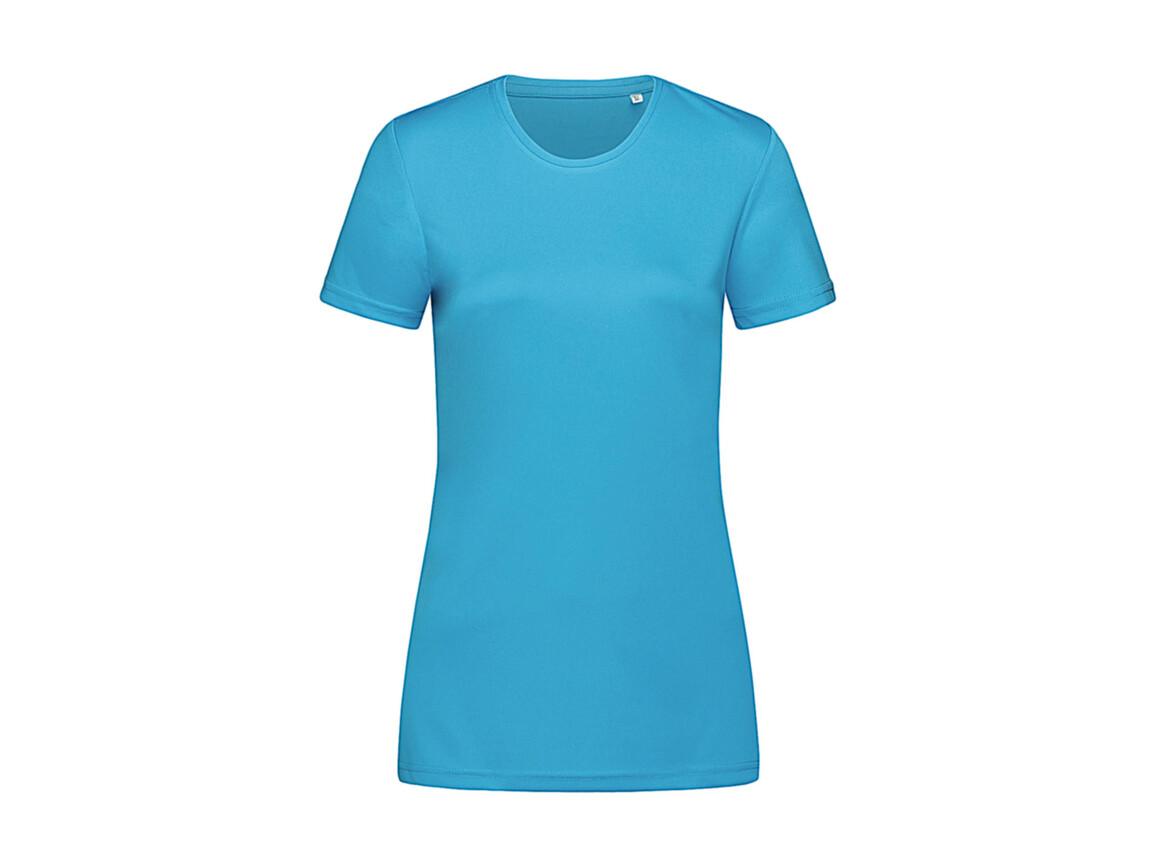 Stedman Active Sports-T Women, Hawaii Blue, S bedrucken, Art.-Nr. 076053163