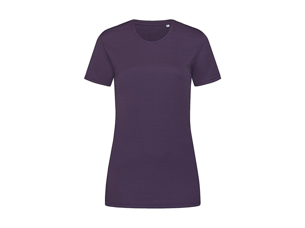 Stedman Active Sports-T Women, Deep Berry, XL bedrucken, Art.-Nr. 076054296