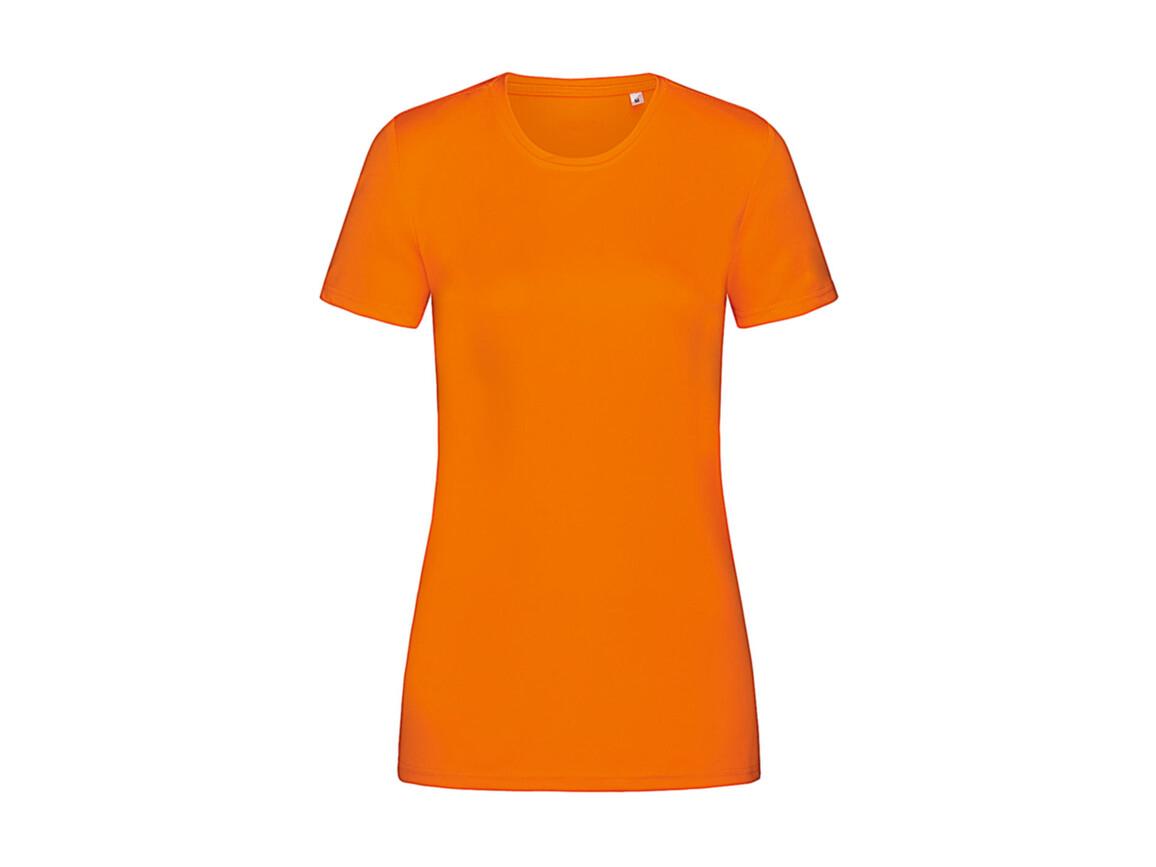 Stedman Active Sports-T Women, Cyber Orange, XL bedrucken, Art.-Nr. 076054326