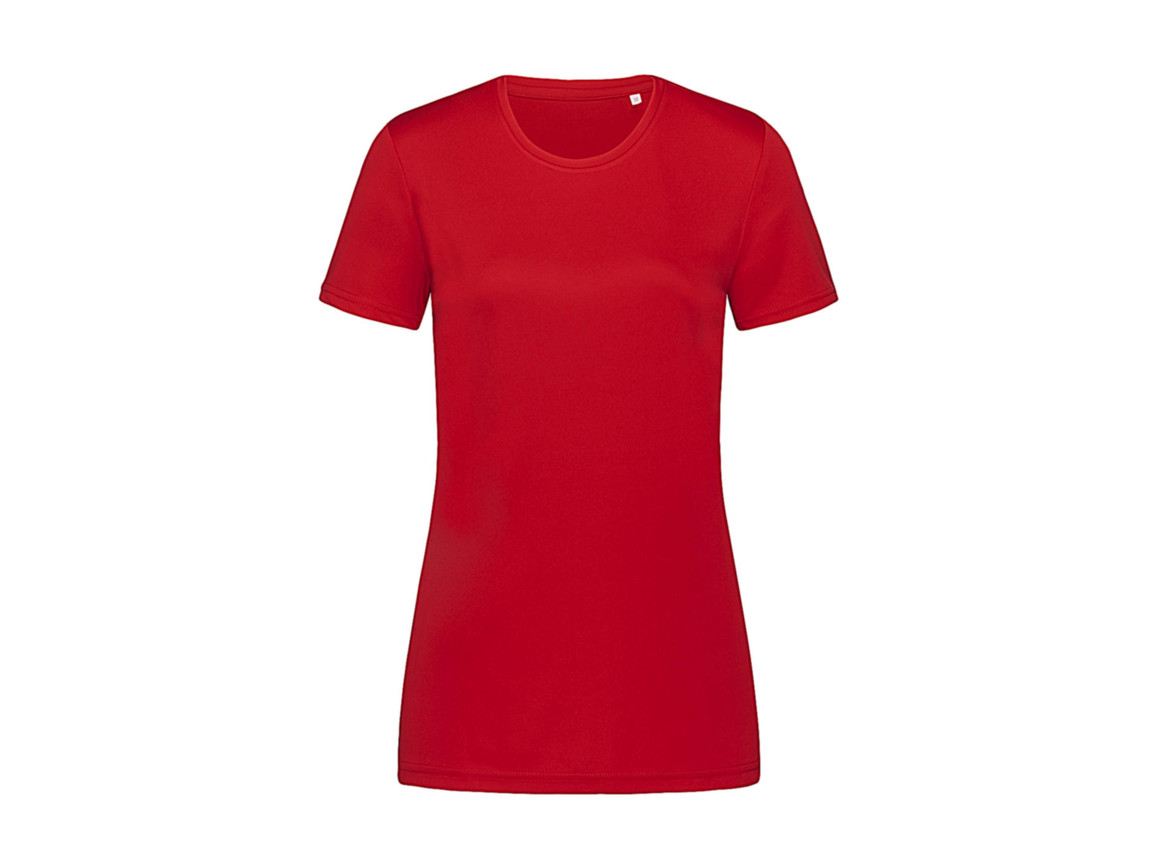Stedman Active Sports-T Women, Crimson Red, M bedrucken, Art.-Nr. 076054414
