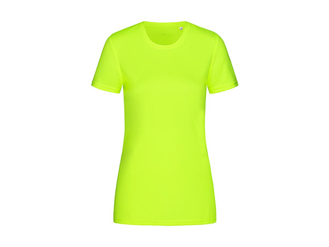Stedman Active Sports-T Women, Cyber Yellow, XL bedrucken, Art.-Nr. 076056066