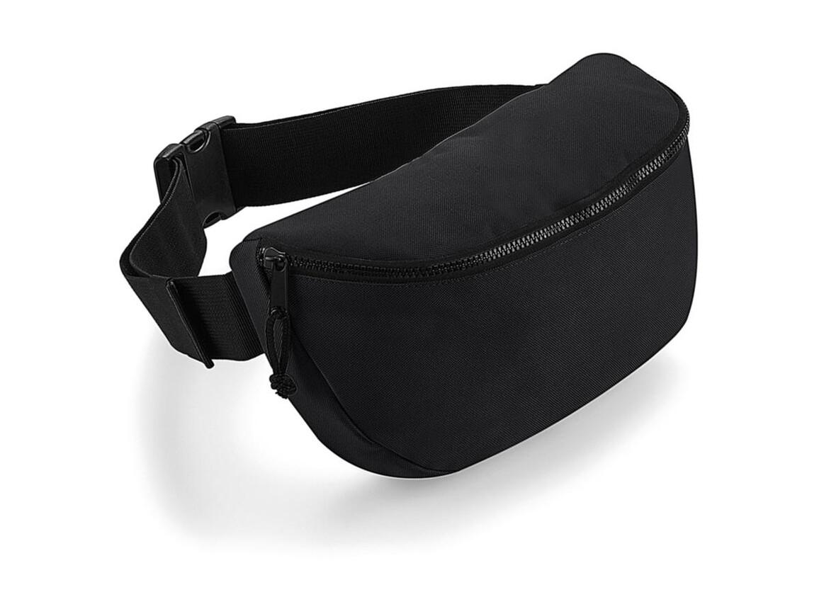 Bag Base Oversized Belt Bag, Black, One Size bedrucken, Art.-Nr. 076291010