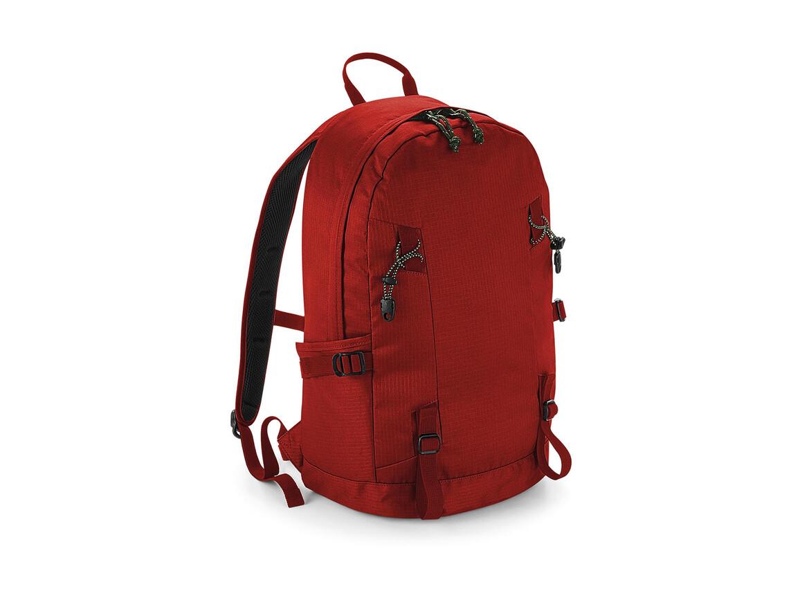 Quadra Everyday Outdoor 20L Backpack, Burnt Red, One Size bedrucken, Art.-Nr. 076304090