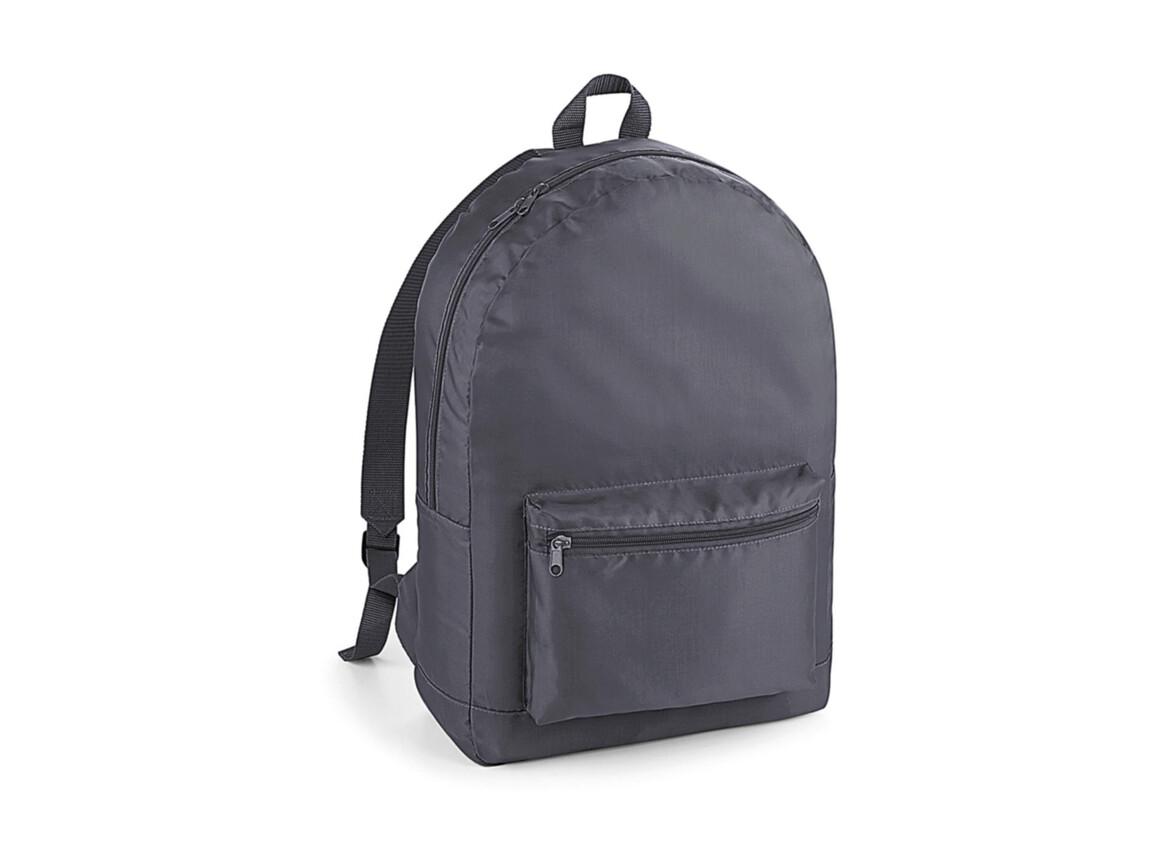 Bag Base Packaway Backpack, Graphite/Graphite, One Size bedrucken, Art.-Nr. 077291710