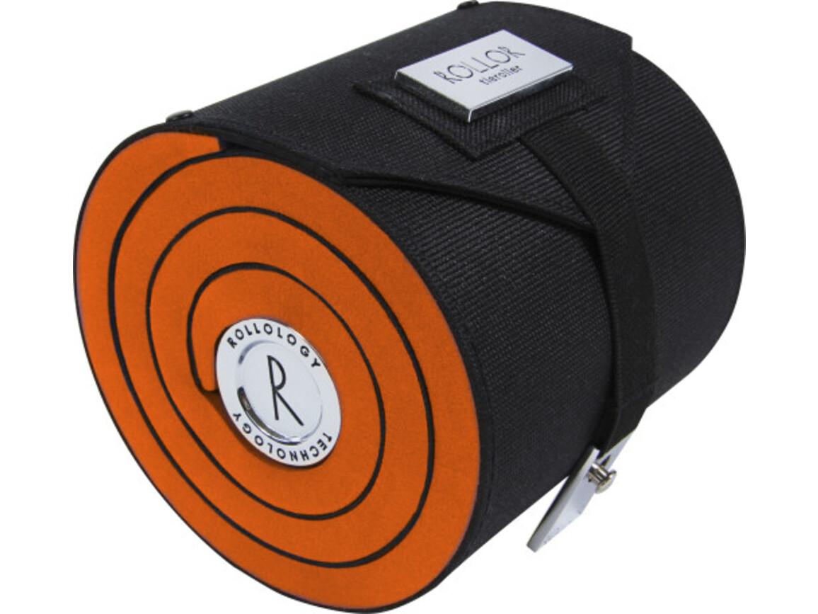 Rollor® Krawattenrolle aus Polyester – Orange bedrucken, Art.-Nr. 007999999_4214
