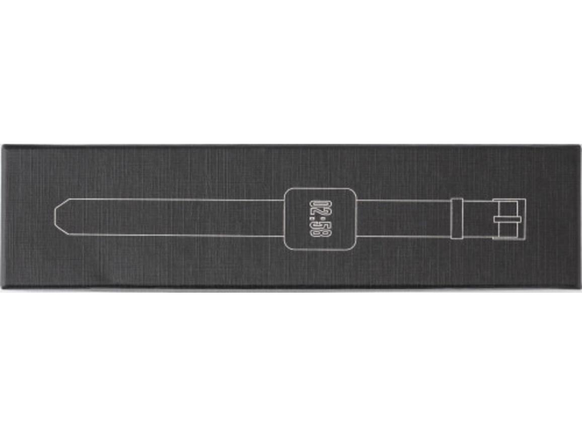 Smartwatch 'Success' aus ABS-Kunststoff – Schwarz bedrucken, Art.-Nr. 001999999_8188