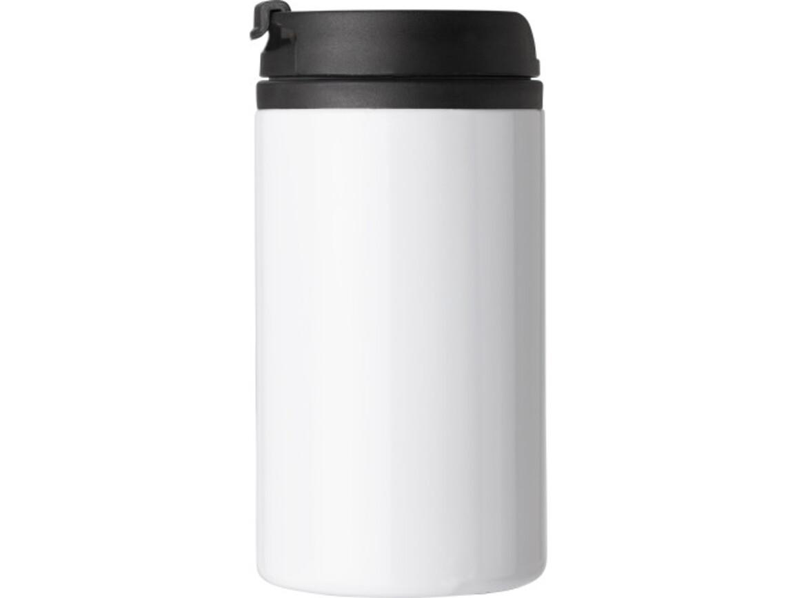 Isolierbecher (300 ml), auslaufsicher – Weiß bedrucken, Art.-Nr. 002999999_8385