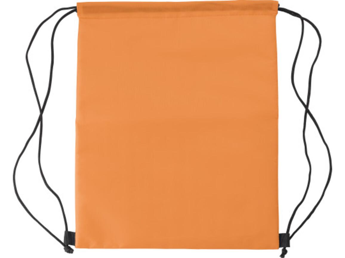 Kühltasche 'Lugano' aus Polyester – Orange bedrucken, Art.-Nr. 007999999_8513