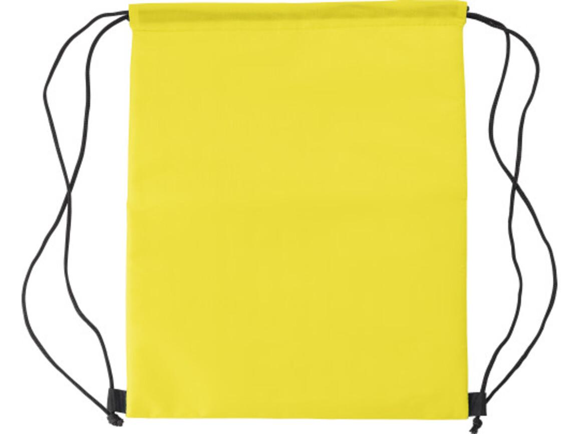 Kühltasche 'Lugano' aus Polyester – Gelb bedrucken, Art.-Nr. 006999999_8513