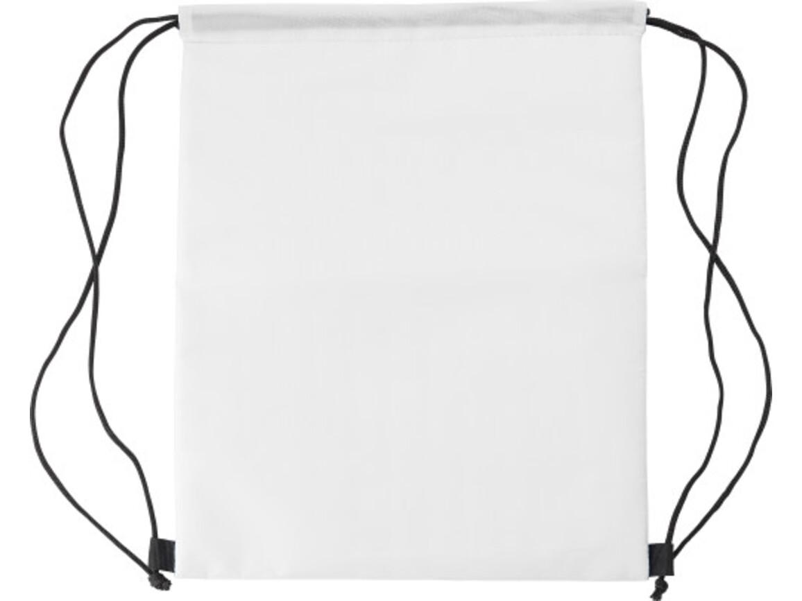 Kühltasche 'Lugano' aus Polyester – Weiß bedrucken, Art.-Nr. 002999999_8513
