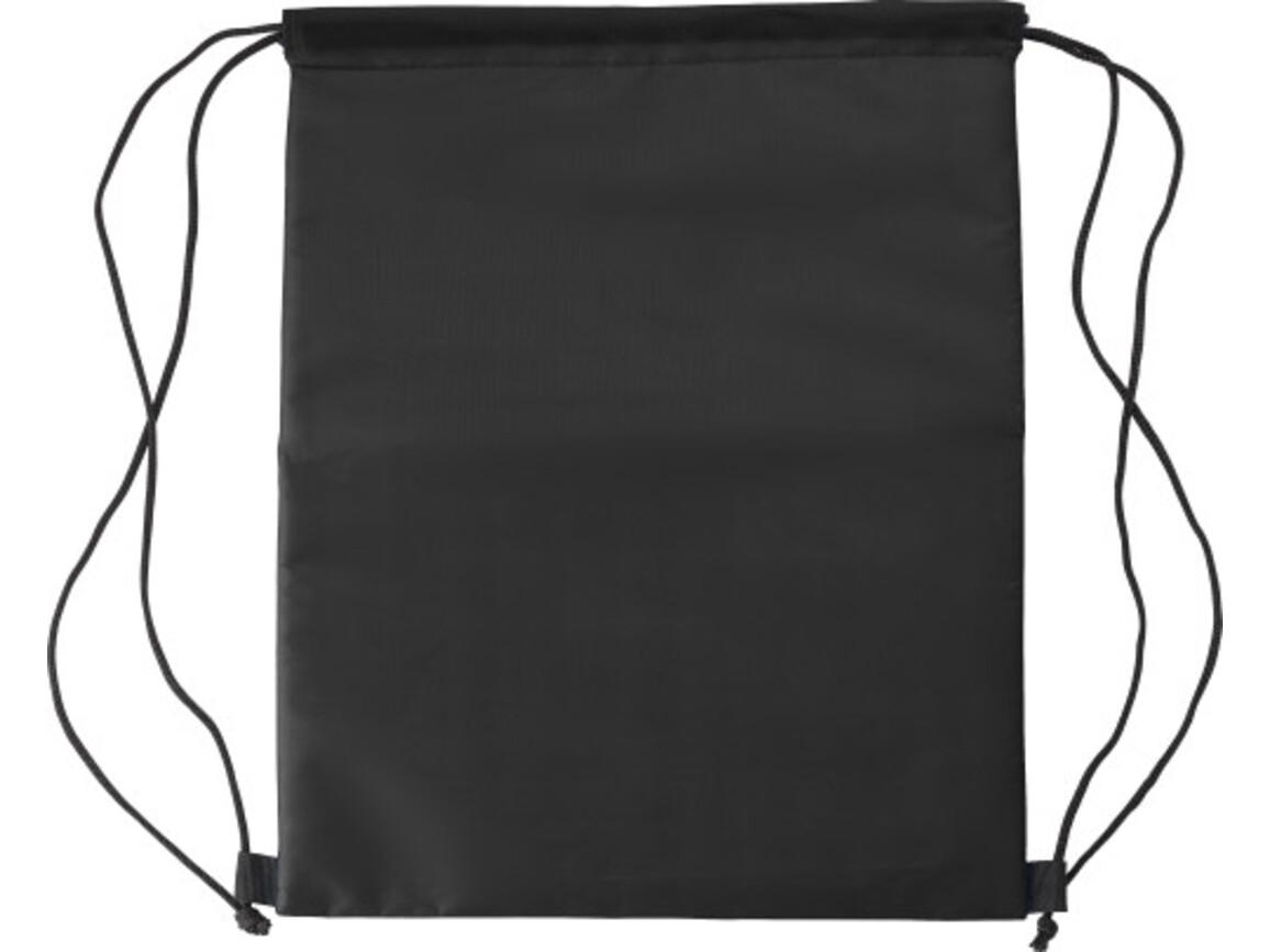 Kühltasche 'Lugano' aus Polyester – Schwarz bedrucken, Art.-Nr. 001999999_8513