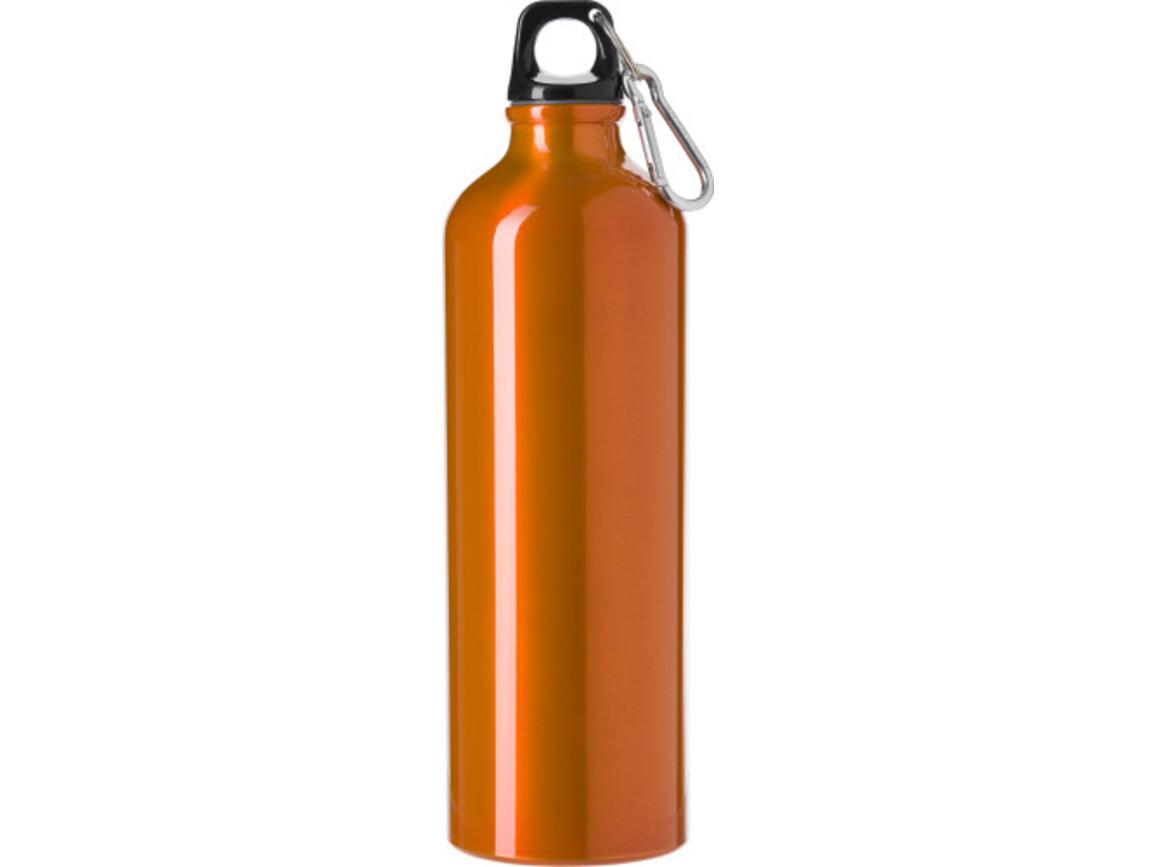 Trinkflasche 'Göteborg' (750 ml) aus Aluminium – Orange bedrucken, Art.-Nr. 007999999_8695