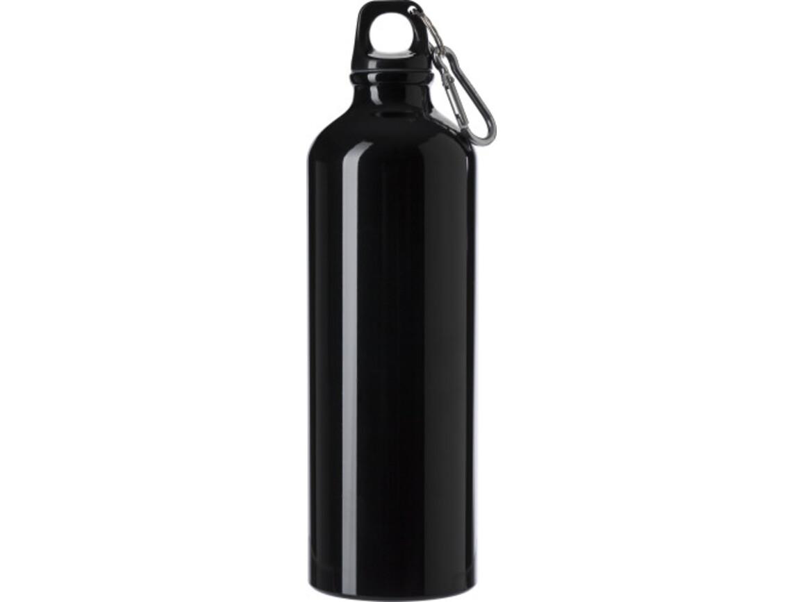 Trinkflasche 'Göteborg' (750 ml) aus Aluminium – Schwarz bedrucken, Art.-Nr. 001999999_8695
