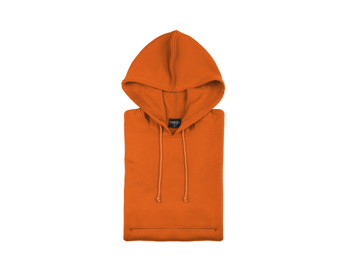 Theon - Erwachsene Technische Sweatshirt - ORANGE - XL bedrucken, Art.-Nr. 4723NARAXL