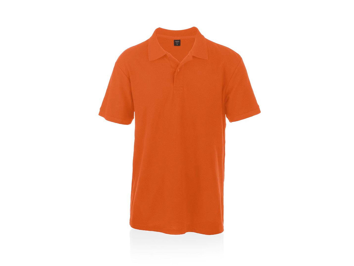Bartel Color - Polo-Shirt - ORANGE - M bedrucken, Art.-Nr. 4756NARAM