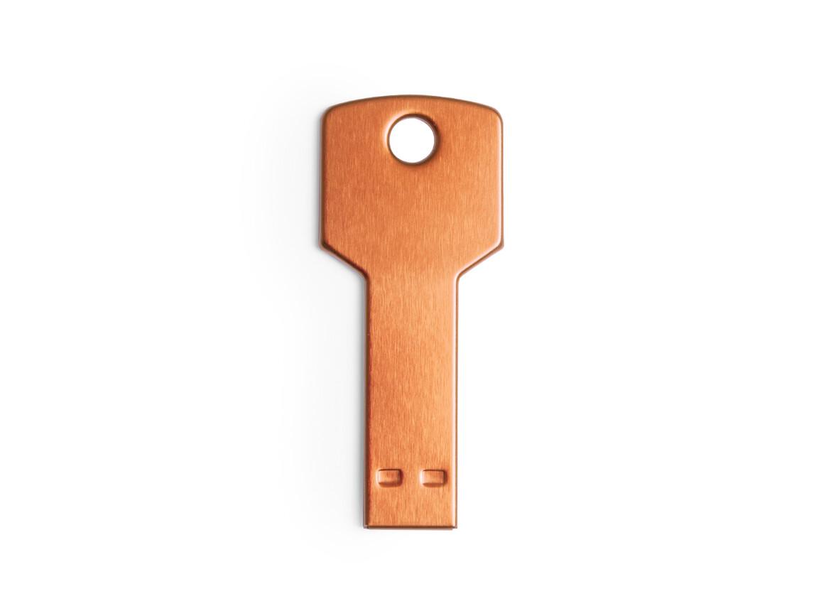 Fixing 16GB - USB Speicher - ORANGE bedrucken, Art.-Nr. 5846 16GBNARAS/T