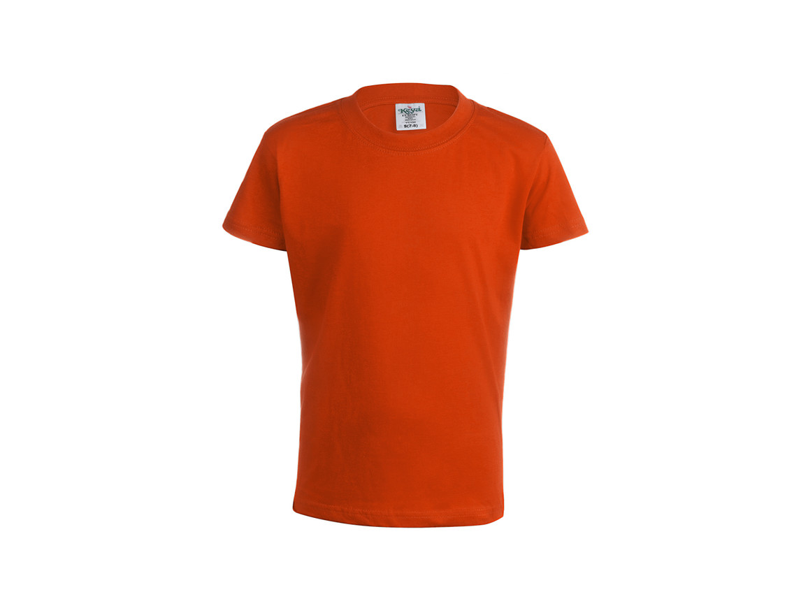 "YC150 - Kinder Farbe T-Shirt ""keya"" - ORANGE - XL bedrucken, Art.-Nr. 5874NARAXL"
