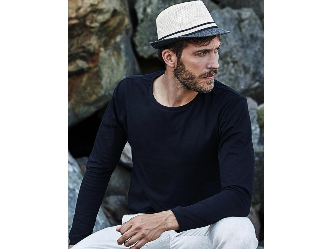 Tee Jays Long Sleeve Fashion Sof-Tee, Black, XL bedrucken, Art.-Nr. 108541015