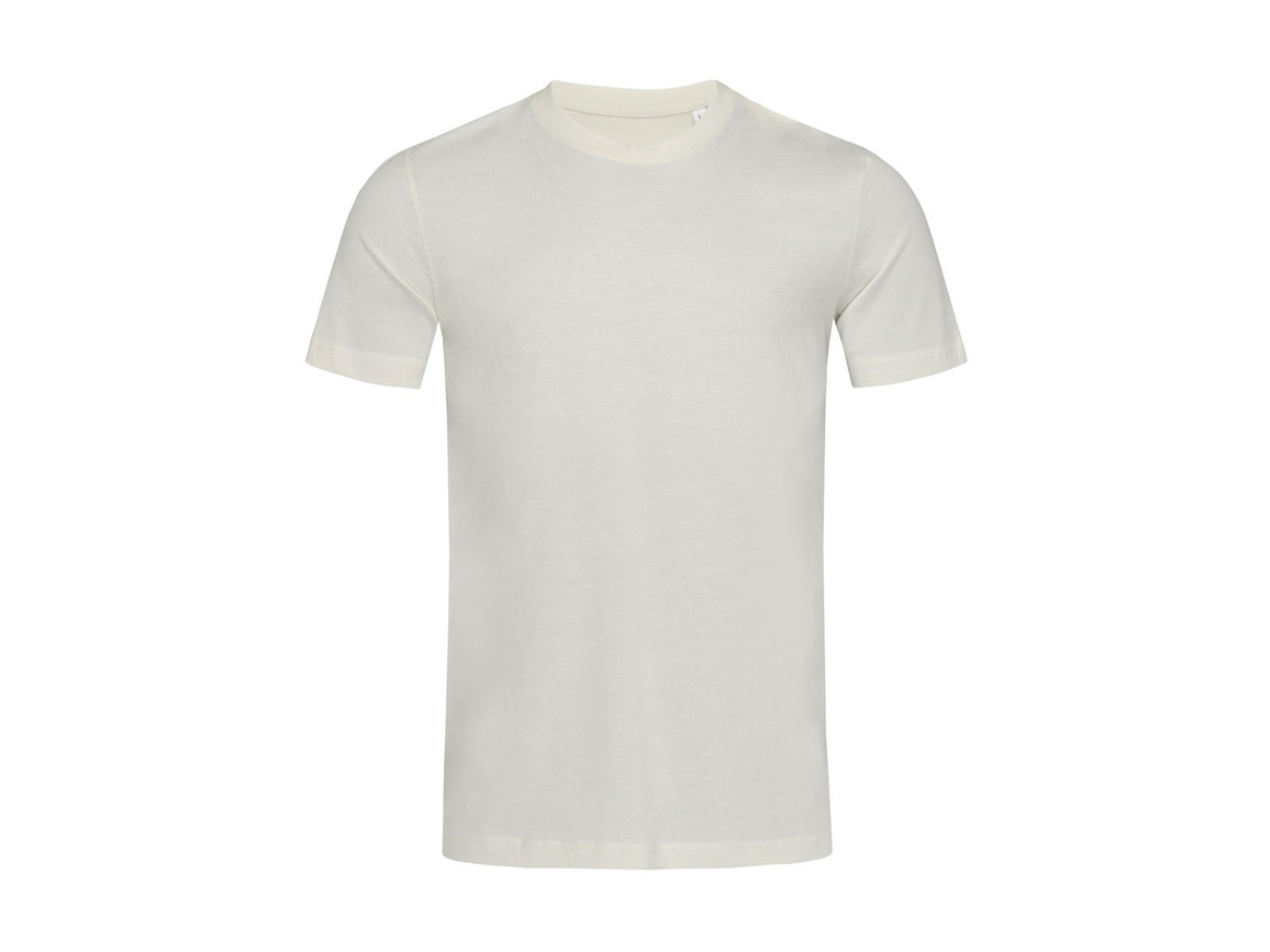 Stedman James Crew Neck Men, Winter White, L bedrucken, Art.-Nr. 118050025