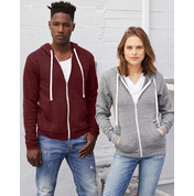 Bella Unisex Triblend Full Zip Hoodie bedrucken, Art.-Nr. 21106