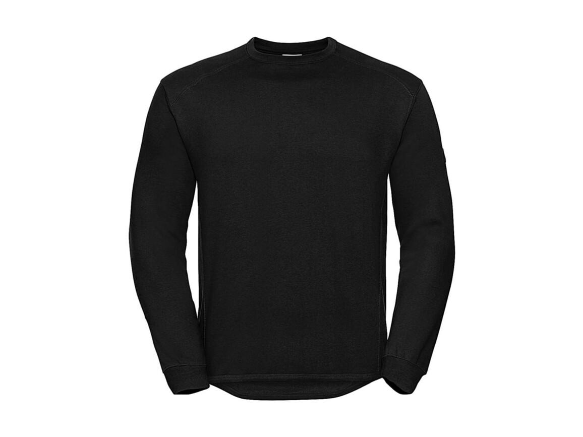 Russell Europe Workwear Set-In Sweatshirt, Black, 3XL bedrucken, Art.-Nr. 213001018