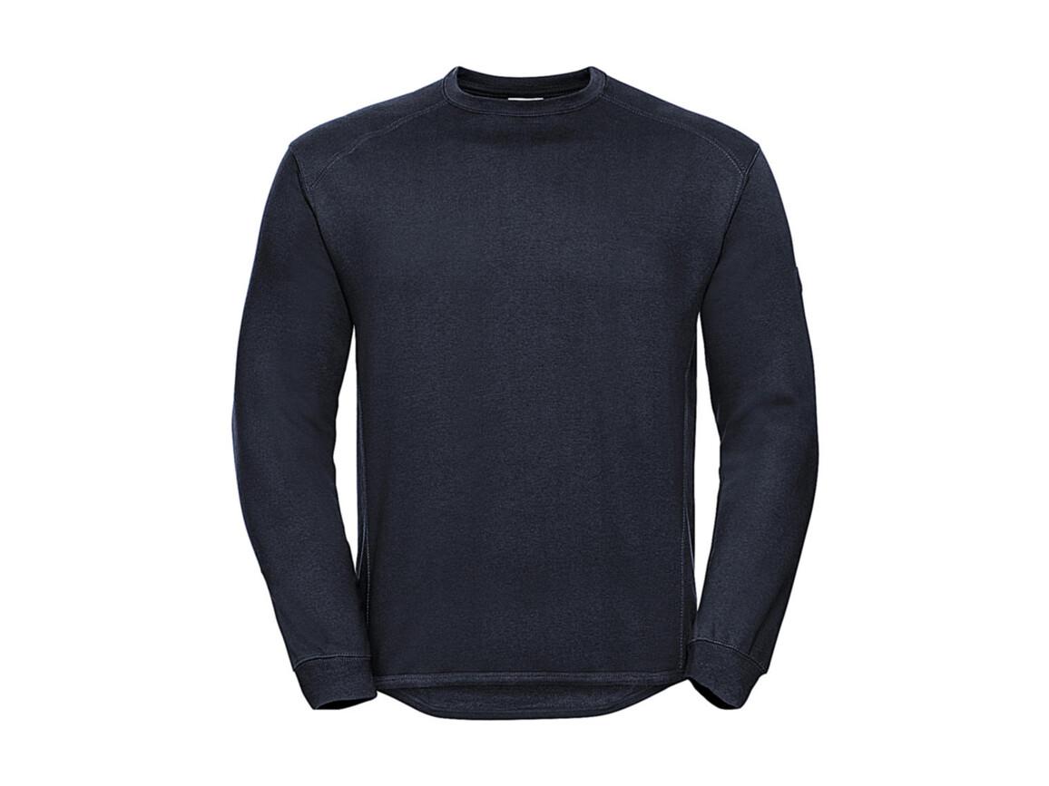 Russell Europe Workwear Set-In Sweatshirt, French Navy, S bedrucken, Art.-Nr. 213002013