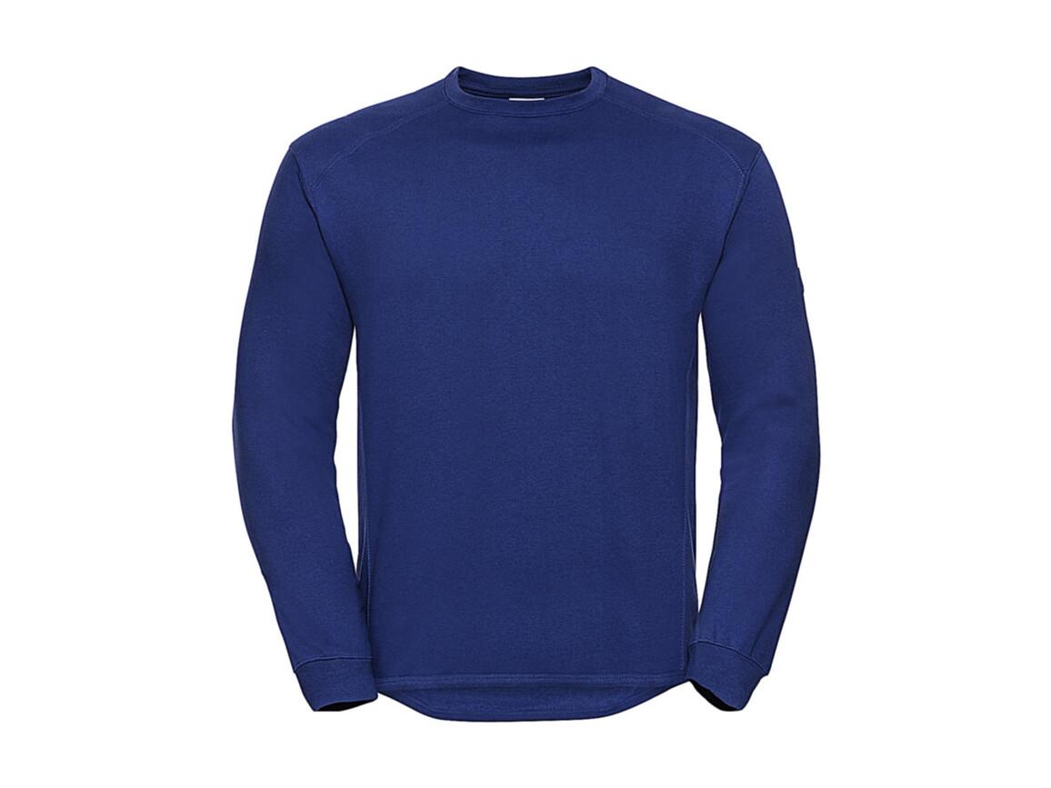 Russell Europe Workwear Set-In Sweatshirt, Bright Royal, XL bedrucken, Art.-Nr. 213003066