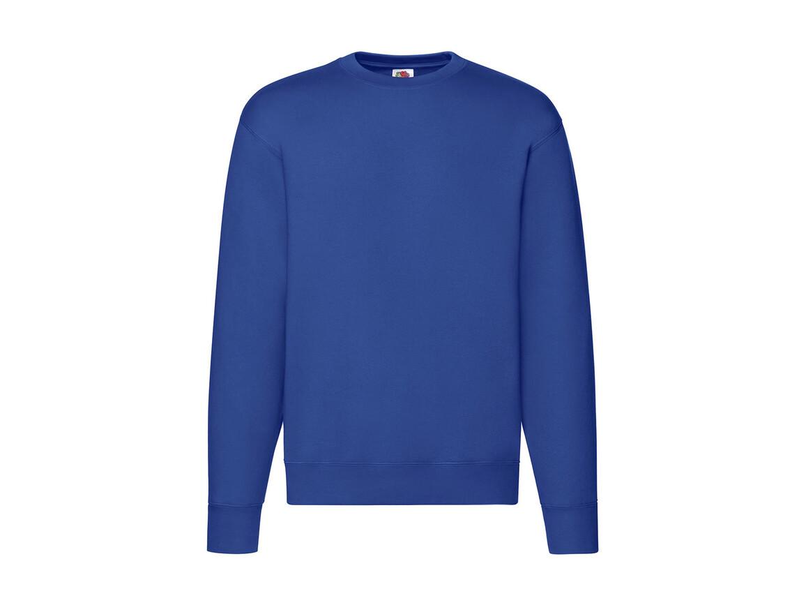 Fruit of the Loom Premium Set In Sweat, Royal Blue, 2XL bedrucken, Art.-Nr. 215013007